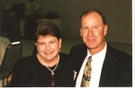 THE LATE DONNA PITTMAN AND SPOUSE JUNE, 1999