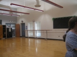 DANCE STUDIO WITH BALLET BARS INCLUDED...NOW THIS IS WHERE I'D BE!