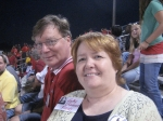 YEP...THAT'S CHUCK BAKER WITH CATHY O'CONNOR..FOOTBALL GAME 2007.