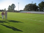 CHECK OUT THAT BEAUTIFUL GRASS ON THE FOOTBALL FIELD 2007.